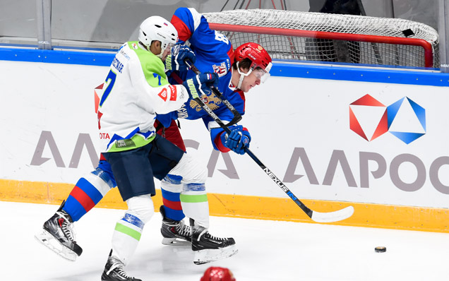 The Russian Olympic team have won the ALROSA Cup!