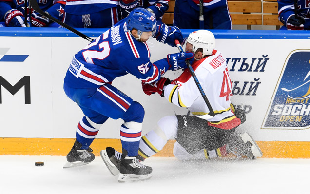 Sochi Hockey Open. Kunlun Red Star - SKA - 2:4