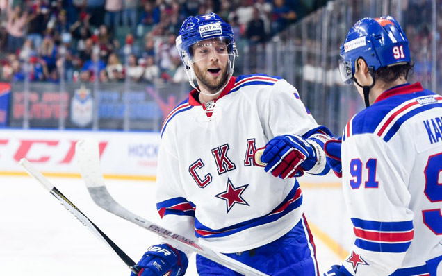 "David Rundblad: ""Saint Petersburg is a real hockey town"""