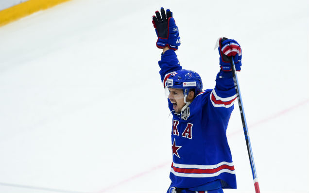 Sergei Shirokov is the KHL's best forward of the week!