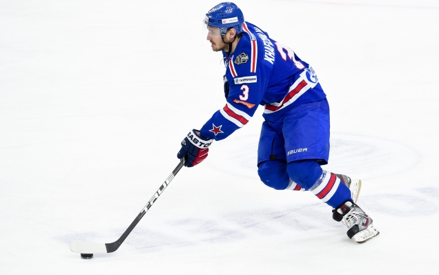 Dinar Khafizullin is the KHL's best defenseman of the week!