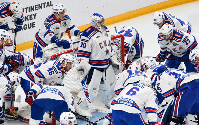 SKA have set a record for the amount of consecutive victories at the start of a KHL season