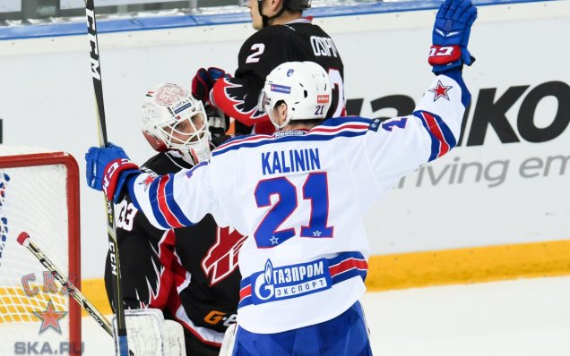 "Sergei Kalinin: ""We controlled the game after we had scored"""