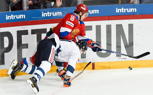 Karjala Cup. Finland - Russia - 3:2