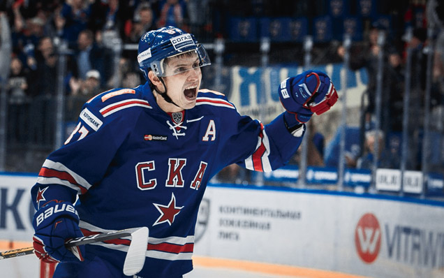 SKA have signed a contract with Vadim Shipachyov