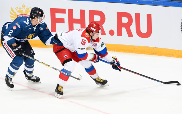 Channel One Cup. Russia - Finland - 3:0