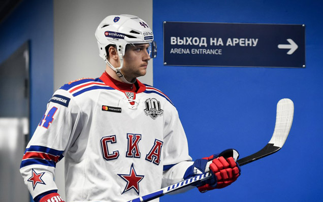 "Yegor Yakovlev: ""We had a fantastic second period"""