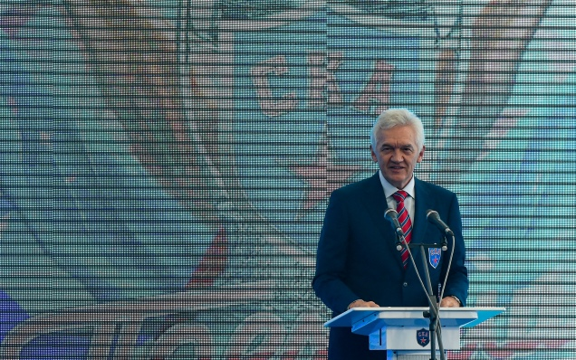 New Year wishes from Gennady Timchenko