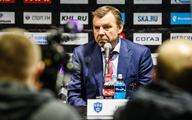 SKA - Dynamo Moscow. Press-conference