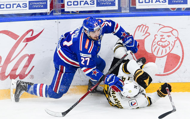 Game one. SKA - Severstal - 4:3 OT