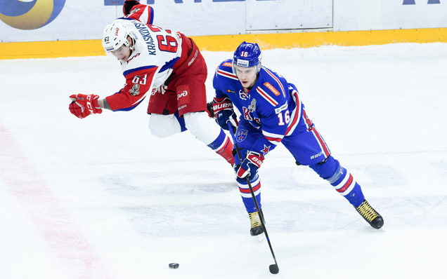 Game two. SKA - Lokomotiv - 1:2