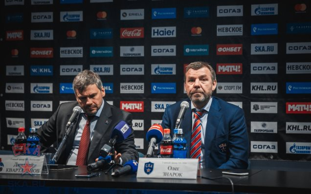 Lokomotiv - SKA. Press-conference of game three