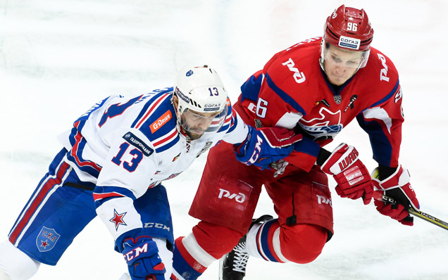 Game four. Lokomotiv - SKA - 1:4