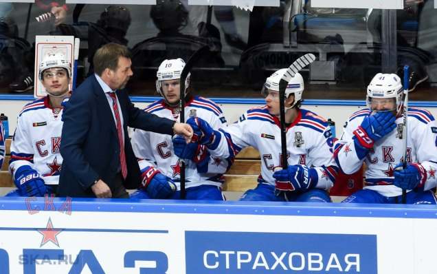 Lokomotiv - SKA. Press-conference of game four