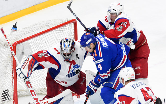 Game five. SKA - Lokomotiv - 3:1