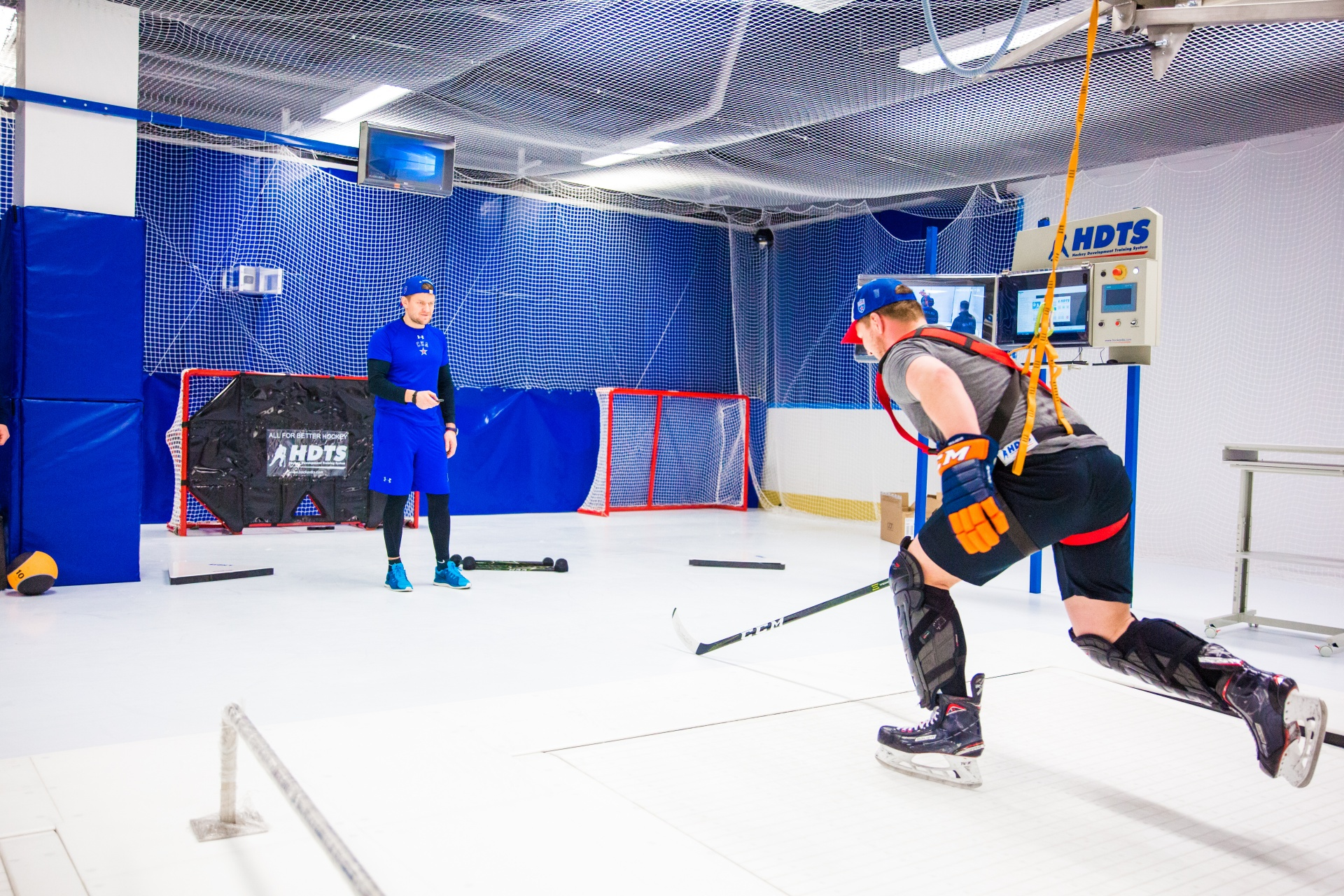 The Red Machine Ice Hockey Development Centre has opened at Hockey City