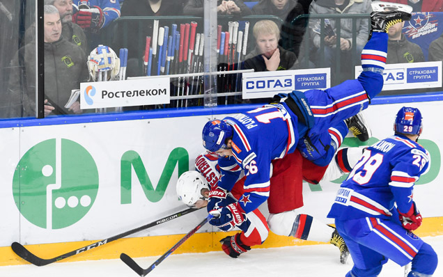Game one. SKA - CSKA - 4:5 OT