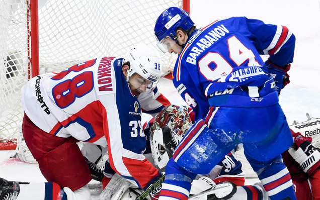 Game two. SKA - CSKA - 2:0