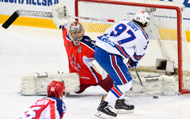 Game three. CSKA - SKA - 2:5