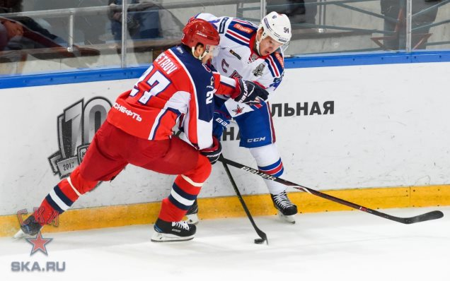 Alexander Barabanov speaks about game three against CSKA