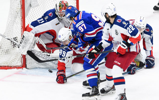 Game five. SKA - CSKA - 0:1