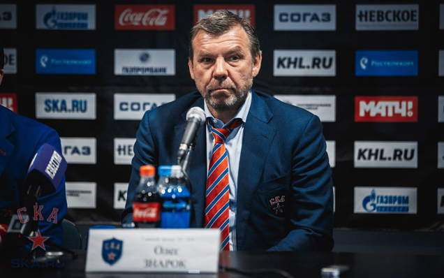 SKA - CSKA. Press-conference of game five