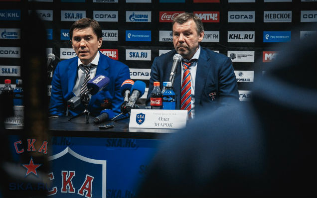 CSKA - SKA. Press-conference of game six