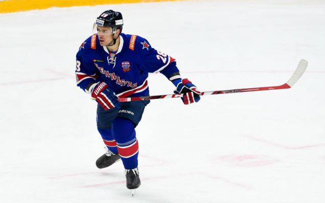 SKA have extended Andrei Zubarev's contract
