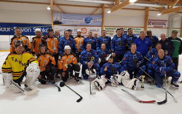 SKA veterans won a tournament in Finland
