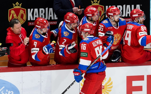 Russian national team roster for the 2018 Channel One Cup