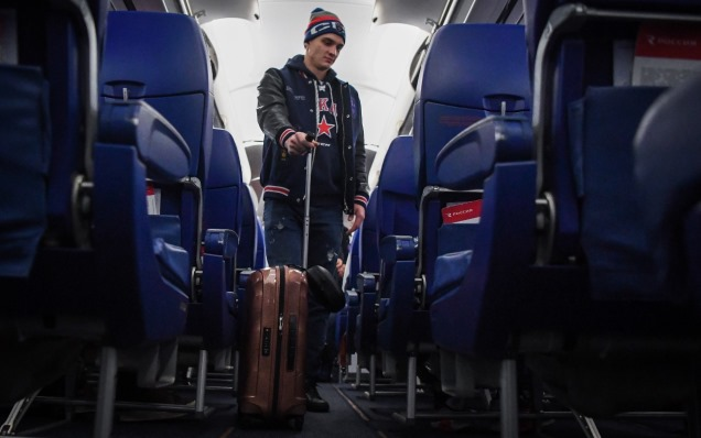 SKA have travelled to Moscow to play HC Dynamo