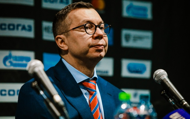 Dynamo Moscow - SKA. Press-conference