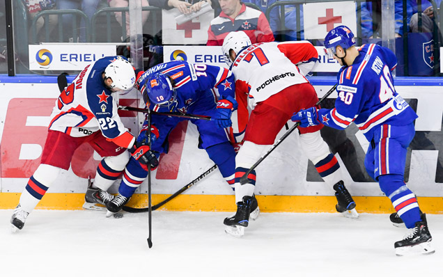 We congratulate CSKA Moscow with winning the KHL Kontinental Cup