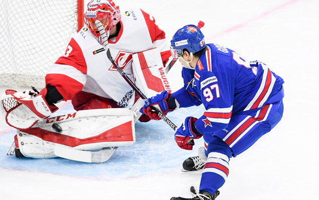 SKA will play Spartak Moscow in the first round of the KHL Gagarin Cup playoffs