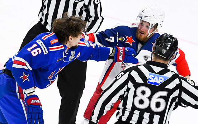 Game six. SKA - CSKA - 3:2