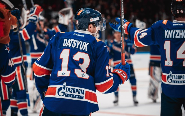 Pavel Datsyuk is leaving SKA