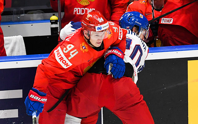 2019 World Championship. Russia - Czech Republic - 3:0