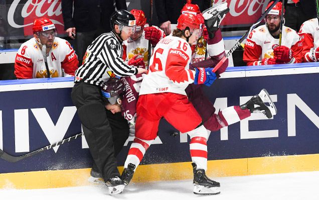 2019 World Championship. Latvia - Russia - 1:3