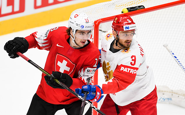 2019 World Championship. Switzerland - Russia - 0:3