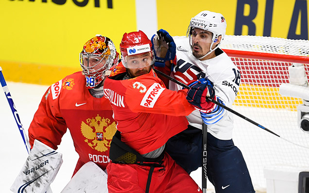2019 World Championship. Russia - USA - 4:3