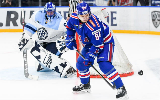 SKA will play the first home match of the 2019/2020 KHL regular season against Sibir