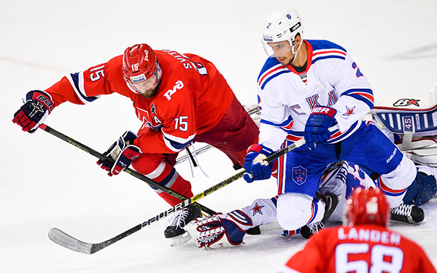 Sochi Hockey Open. «Локомотив» – СКА – 0:4