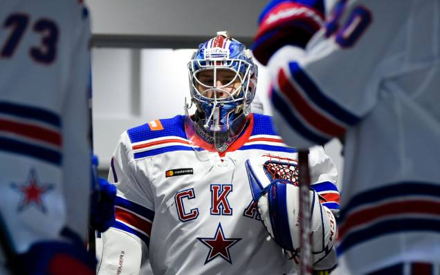 Alexei Melnichuk is the best KHL goalkeeper of the week