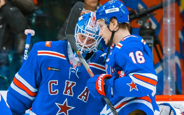 Alexei Melnichuk and Sergei Plotnikov are the best KHL players of the week