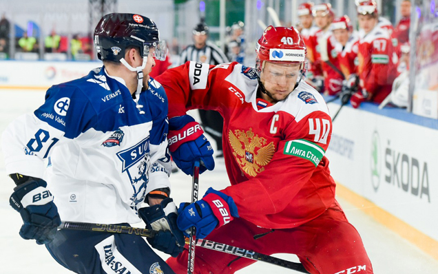 2019 Channel One Cup. Russia - Finland - 2:0