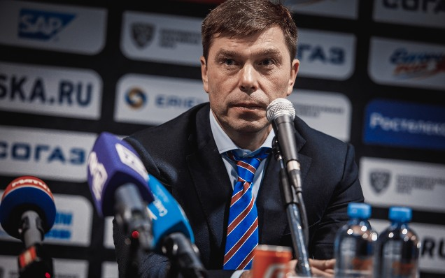 Severstal - SKA. Press-conference
