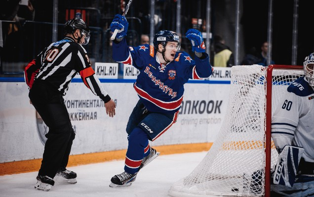 Vasily Podkolzin is the best KHL rookie of the week!