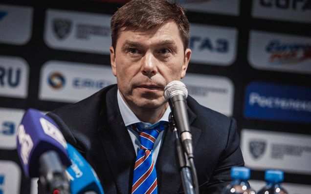 SKA - Dinamo Minsk. Press-conference