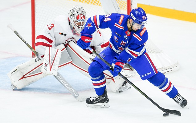 SKA will play against Vityaz in the first round of the KHL Gagarin Cup playoffs