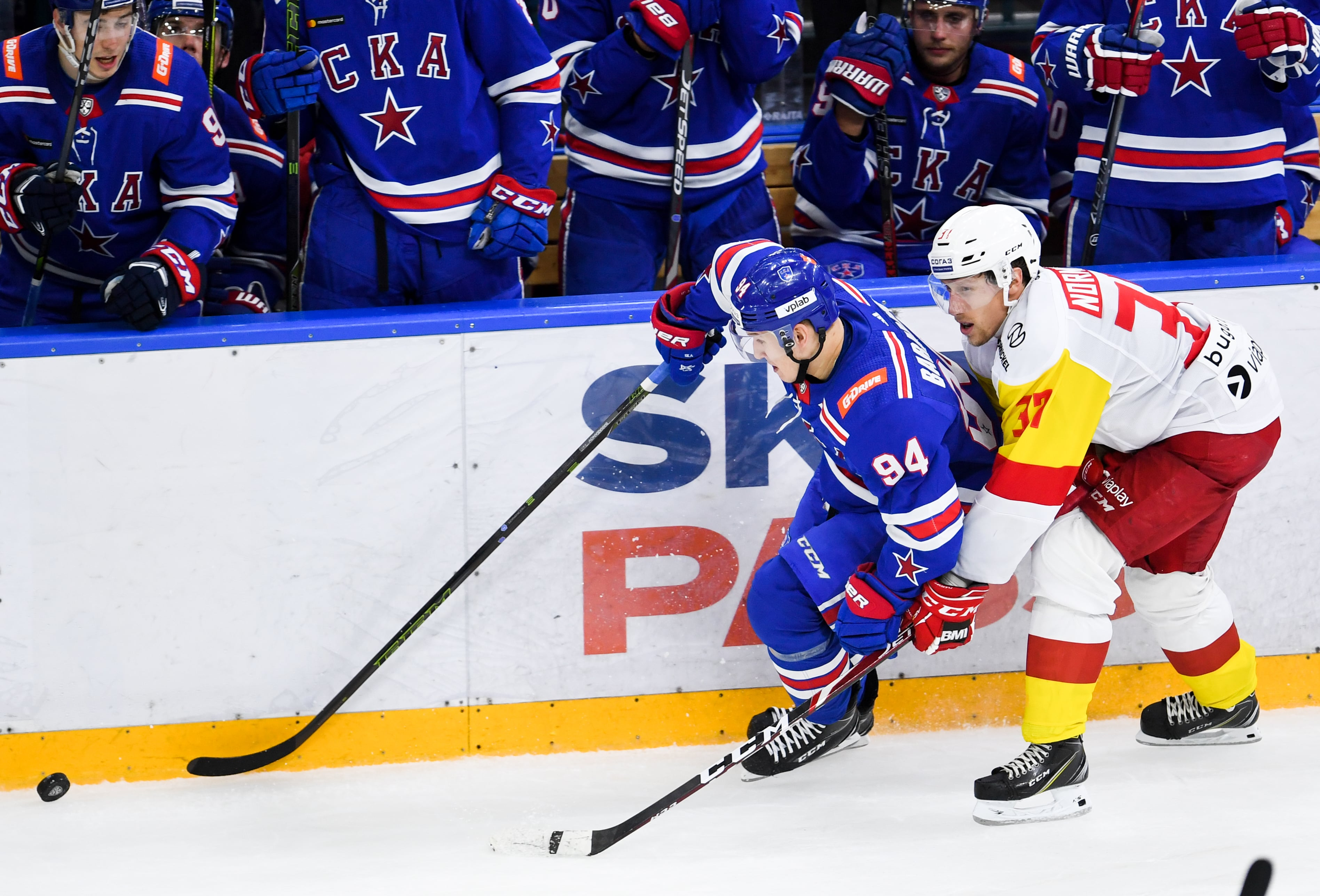 SKA will play against Jokerit in the second round of the KHL Gagarin Cup playoffs